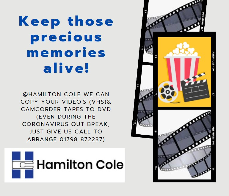 Hamilton cole video DVD